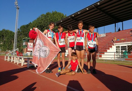 Gran actuación da canteira ordense de atletas no Campionato Galego