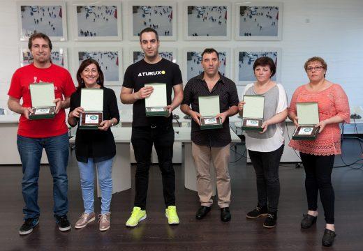 Fene entrega os premios do X Concurso de Tapas