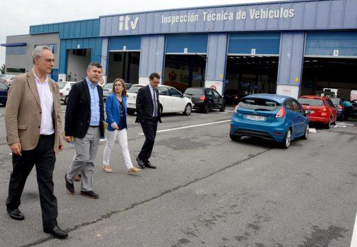 As estacións da Inspección Técnica de Vehículos da provincia da Coruña realizaron o pasado ano máis de 689.000 verificacións