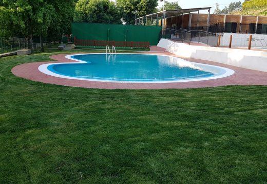 Ovidio Rodeiro inaugurará mañá venres a piscina infantil de Frades, construída cunha achega de 26.000 euros da Xunta