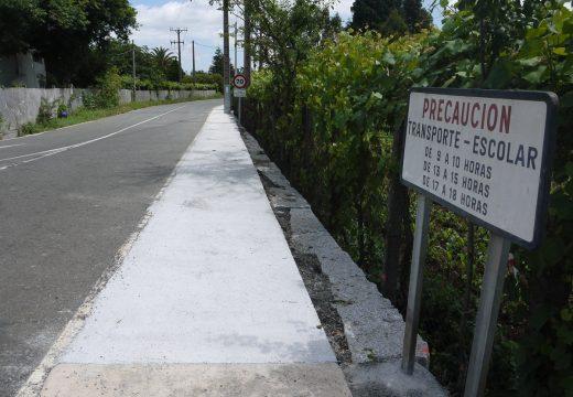 Touro destina 90.000 euros a un Plan Municipal de Obras que constrúe sendas peonís e arranxa o interior de aldeas