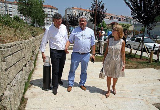 Medio Ambiente habilitou un sendeiro no centro de Boiro para mellorar a cohesión urbana e facilitar a integración veciñal