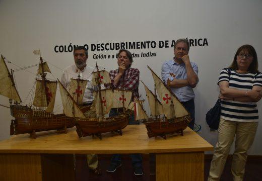O Museo do Gravado de Artes exhibe unha vasta exposición en torno a Cristóbal Colón