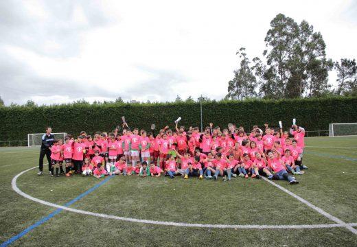 O campo de fútbol de Loxo acolle o próximo sábado o VIII Trofeo F-8 Alevín Concello de Touro y I Trefeo F-8 Prebenxamín Concello de Touro, no que participarán arredor de 100 nenos e nenas