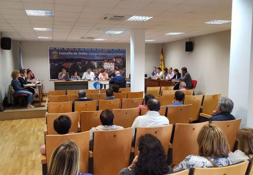 O Pleno rexeita a proposta de estudo da inclusión de Ordes na área metropolitana da Coruña