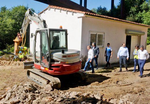 A Xunta acomete a construcción dunha nova captación de augas e impulsión para satisfacer a demanda dos veciños de Aranga