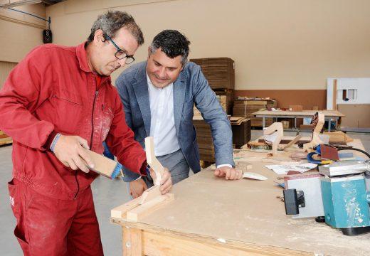 A Xunta apoia con preto de 150.000 euros ao centro especial de emprego Aspaber, que en 2016 xenerou 48 postos de traballo