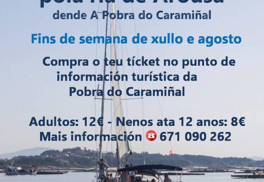Este verán o veleiro  Fénix VI estará na Pobra do Caramiñal