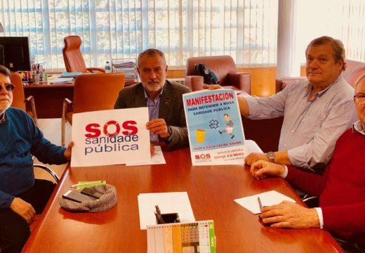 O goberno local Cambre apoia a mobilización en defensa da Sanidade pública