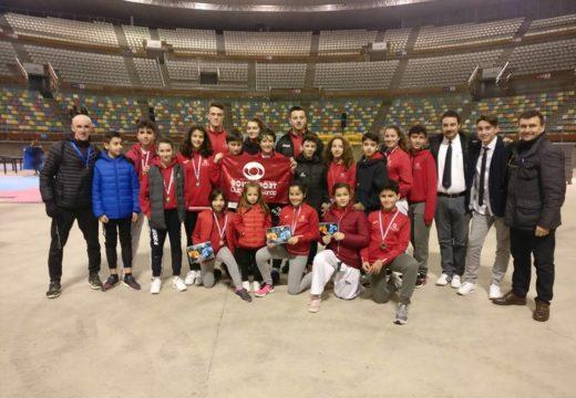 Cúmulo de medallas para o Club de Taekwondo Boudsport na Copa A Coruña 2018
