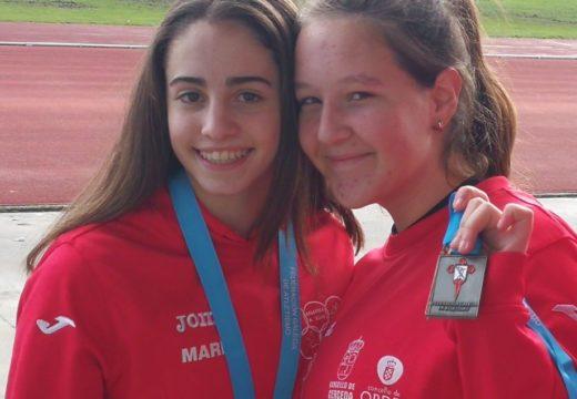 Ouro para María Pena no Campionato Galego de Lanzamentos de Inverno