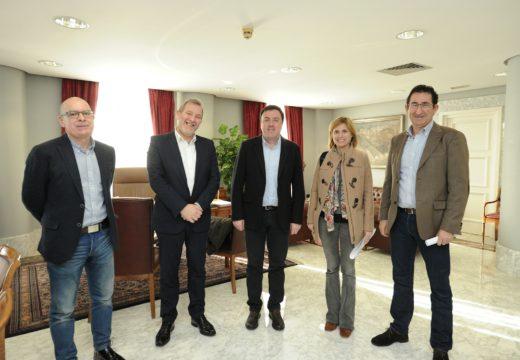 Turismo de Galicia e a Deputación da Coruña sentan as bases para a creación da mesa do camiño de Santiago na Provincia
