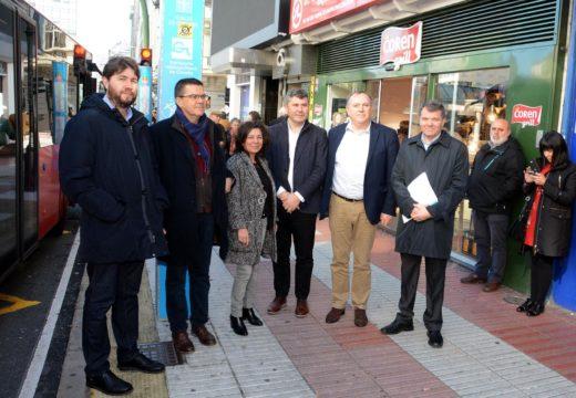 A Xunta pon en servizo dazasete novas liñas coa segunda fase do Plan de acceso dos buses interurbanos ao centro da Coruña
