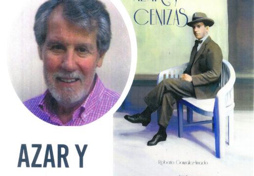 Roberto González-Amado presentará mañá 'Azar y cenizas' na biblioteca de Ordes