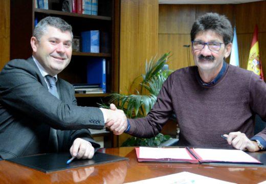 A Xunta inviste máis de 154.000 euros nas obras de saneamento de Vilar e a Rebouta á EDAR de olveira, no concello de Dumbría