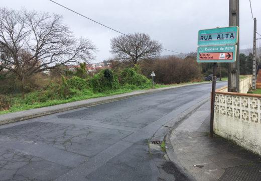 O Concello de Fene mellorará a seguridade na Rúa Alta cun novo firme e pasos peonís sobreelevados