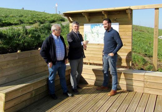 A Xunta inviste máis de 210.000 euros en diferentes actuacións paisaxísticas e medioambientais no concello de Mazaricos