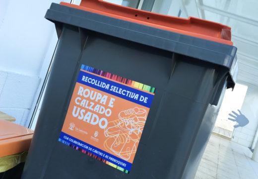 O Concello de San Sadurniño pídelle á veciñanza un uso adecuado dos colectores de roupa usada