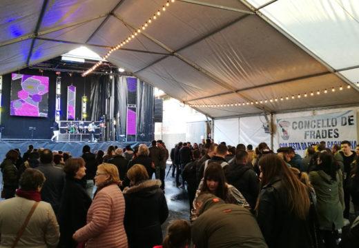 Centos de persoas participaron na VII Festa da Filloa e Cachucha de Abellá