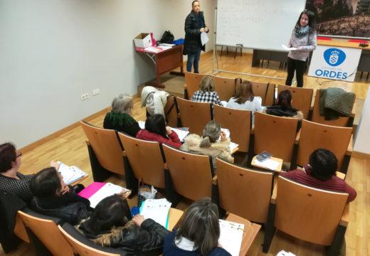 A Mancomunidade de Ordes inicia o ciclo de charlas de competencias clave e habilidades sociais