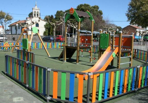 Máis de 18.500 € para a renovación do parque infantil do Mesón do Vento