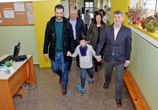 """A Xunta fai melloras no """"Nosa Señora do Rosario"""", único centro galego coa ESO completa para nenos con deficiencias auditivas"""