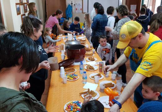 Uns cincuenta nenos e nenas participan nas actividades de conciliación do Concello de Frades para a Semana Santa