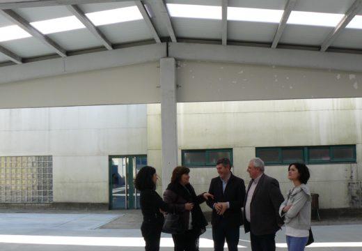 A Xunta investiu preto de 80.000 euros na construción dun patio cuberto e unha soleira no CPI Cernadas de Castro