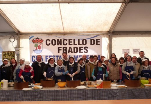 A XIII Festa da Merenda de Aiazo sobreponse á tormenta da fin de semana e reúne a milleiros de visitantes en torno ás tortillas de masa