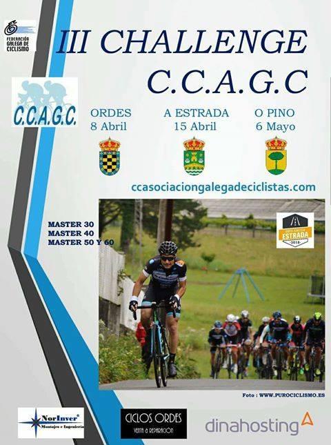 O I Trofeo Cliclista Concello de Ordes terá lugar en abril