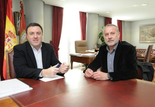 O alcalde de Cambre e o presidente da Deputación acordan mellorar a seguridade viaria coa colocación de varios pasos elevados