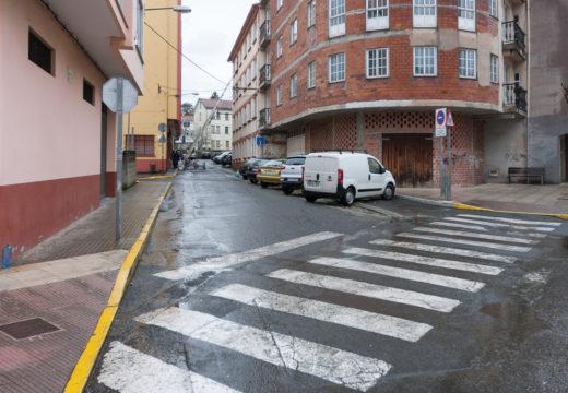 O Concello de Fene mellorará a seguridade peonil e do tráfico na rúa Ameneiral