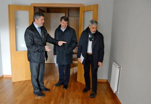 A Xunta remata a adecuación de oito vivendas de Promoción Pública en Novo Mesoiro logo de investir preto de 54.000 euros