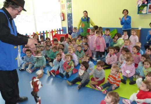 A gardería municipal de Brión celebra a Semana da Música con tres actuacións de familiares dos seus alumnos e alumnas