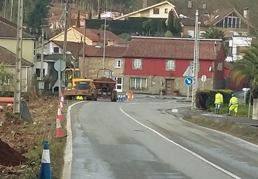 Comezan as obras de construción da senda peonil e ciclista entre os núcleos de A Susana e A Eirexe