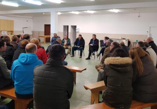 O alcalde de Boqueixón inicia a súa rolda de reunións coa veciñanza das distintas parroquias