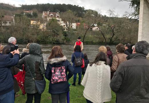 Máis de 160 persoas participaron nas dúas visitas teatralizadas á Ponte Ledesma