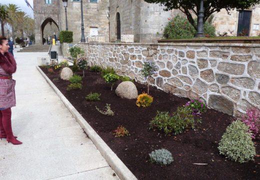O Concello de Noia pon en valor os xardíns Felipe de Castro e da Praza das Angustias