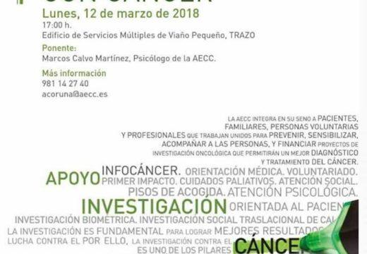 Charla sobre o acompañamento das persoas con cancro