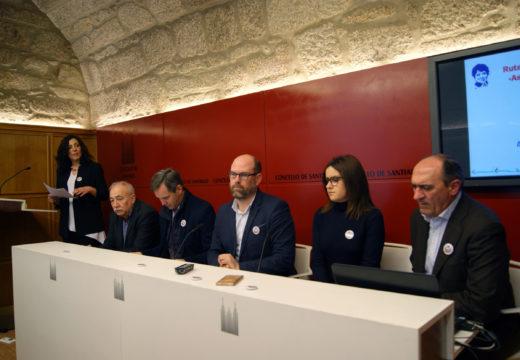 """Ames, Brión, Padrón e Santiago presentan a nova ruta """"As pegadas de Rosalía"""""""