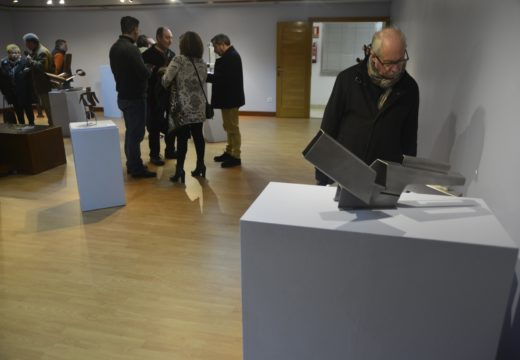 """O Lustres Rivas de Riveira exhibe 20 obras do escultor ourensán Antonio Souto na exposición """"Tubos Animados"""""""