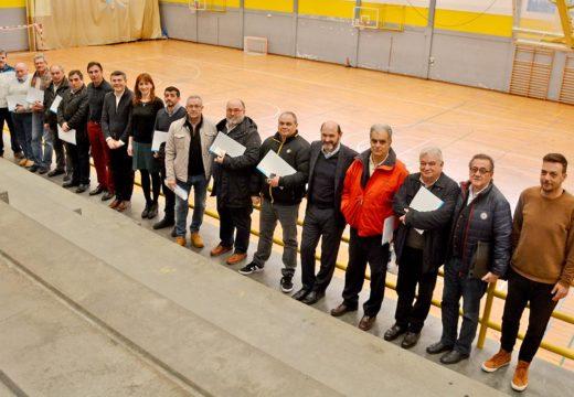Marta Míguez asina nas catro provincias galegas os convenios de colaboración coas federacións deportivas de Galicia que medran un 7% con respecto a 2017