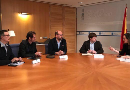 O Concello e a Xunta asinarán un convenio para a licitación da mellora do Camiño Inglés no tramo do Polígono do Tambre
