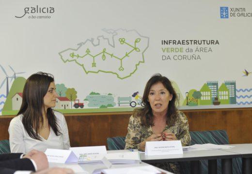 Medio Ambiente e concellos presentan os primeiros avances da futura estratexia de infraestrutura verde da área de a Coruña co obxectivo de ter listo o borrador este verán