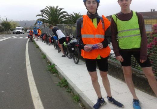 Touro destaca que O Camiño do Holandés, a ruta alterantiva en bice cara Compostela, comenza coa primavera a encherse de peregrinos (Con foto)