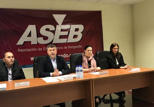 A Xunta traslada aos empresarios de Bergondo as axudas para autónomos, fomento do emprego, financiamento e eficiencia enerxética para apoiar a súa actividade