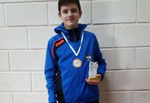 "O cadete lousamiá Edgar Batista consegue a medalla de ouro no XVIII Open Internacional de Taewondo ""Ciudad de la Cerámica"""
