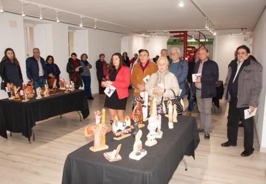 """A sala de exposicións de Brión acollerá ata o 20 de abril a mostra de escultura """"Imarxinacións"""", de Fran Lareo"""