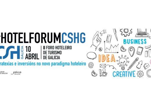 A segunda edición de #HotelForumCSHG afondará a próxima semana nas oportunidades de investimento no sector hosteleiro