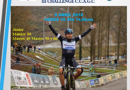 Este domingo terá lugar o I Trofeo Ciclista Concello de Ordes